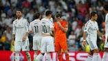 O Real Madrid reage após a segunda mão
