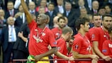 Stéphane Mbia reached out to his Twitter fans