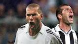 Zinédine Zidane brilhou ao serviço de Real Madrid e Juventus