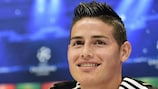 James Rodríguez is hoping to reach his first major European final
