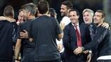 Unai Emery hat bisher 49 Spiele in der UEFA Europa League gecoacht