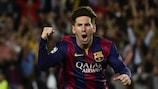 Lionel Messi s'est offert le record de buts marqués en UEFA Champions League cette saison