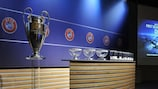 First UEFA Champions League draws on Monday