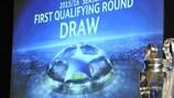 Sorteio da primeira pré-eliminatória UEFA Champions League