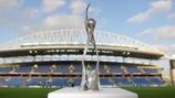Трофей чемпионата Европы среди девушек до 19 лет, использующийся с 2014 года