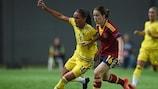 Beatriz Beltrán vio como su España perdió ante la Suecia de Anna Oskarsson