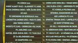 В Ньоне прошла жеребьевка третьего отборочного раунда Лиги Европы УЕФА