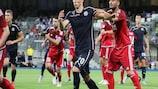 Marko Pjaca (Nr. 20) im Einsatz für Dinamo gegen Fola in der zweiten Qualifikationsrunde