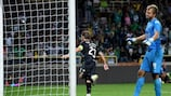 Adrien Silva marcó el gol del triunfo sobre la bocina para el Sporting