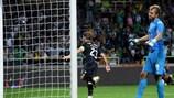Adrien Silva apontou o golo da emocionante vitória do Sporting