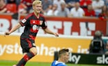 Julian Brandt erzielte den Siegtreffer für Leverkusen