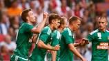 Il Rapid, secondo in Austria la scorsa stagione, si prepara per la visita dello Shakhtar