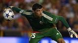 Valencia goalkeeper Matthew Ryan in action against Monaco on Wednesday evening