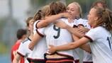 Сборная Германии выиграла все три матча в пятой группе