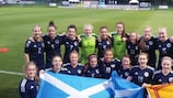 Scotland celebrate a qualifying victory in September 2015