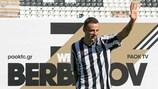 Dimitar Berbatov llegó libre al PAOK procedente del Mónaco