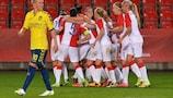 Slavia Praha durfte sich über einen Sieg gegen Brøndby freuen