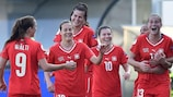 La Svizzera festeggia il successo contro l'Italia