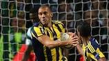 Fernandão got both Fenerbahçe goals at Celtic Park