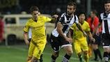 Una acción del 1-1 firmado en Salónica