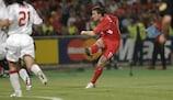 Vladimír Šmicer marcó el segundo gol del Liverpool en la final de la UEFA Champions League 2005