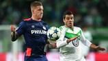 Wolfsburg got the better of PSV on matchday three