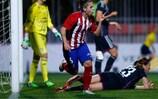 Nagore Calderón brachte Lyon mit Atlético endlich wieder ein Gegentor bei, das Spiel ging allerdings verloren
