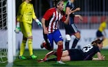 Nagore Calderón of Atlético ended Lyon's long run without conceding but they lost 3-1