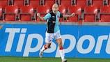Slavia steht erstmals im Viertelfinale
