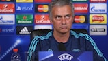 José Mourinho speaking ahead of Dynamo's visit to Stamford Bridge