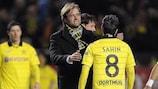 Le Dortmund de Jürgen Klopp a lui aussi échoué en phase de groupes de l'UEFA Europa League