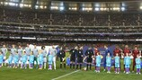 An 80,000 crowd watched Madrid play Roma in Melbourne this summer