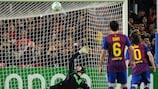 Lionel Messi hat Petr Čech noch nie bezwingen können - hier verschießt er einen Elfer gegen Chelsea im Jahr 2012