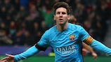 Lionel Messi and Barcelona have fine round of 16 records to defend