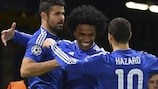 Willian hopes the goals will keep flowing in the UEFA Champions League