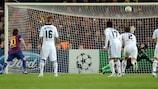 Lionel Messi konnte auch einen Elfmeter gegen Petr Čech nicht verwandeln