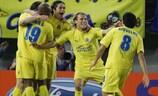Villarreal feiert nach dem 1:1 zuhause gegen die Rangers das Weiterkommen