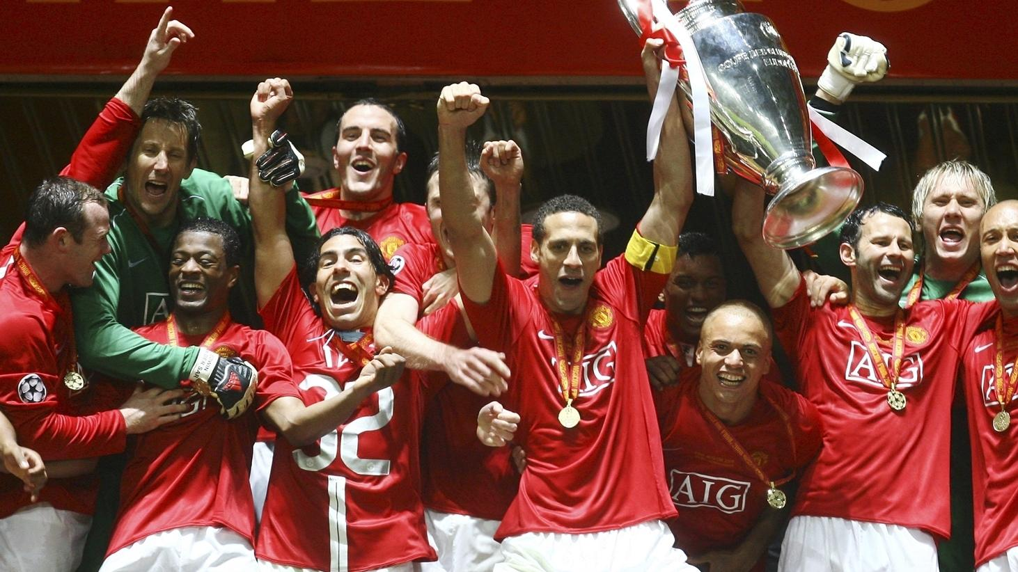 Манчестер юнайтед кубок чемпионов