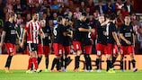 Midtjylland eliminated Southampton in the UEFA Europa League play-offs