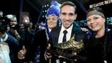 Sven Kums mit dem Golden Schuh als Belgiens Fußballer des Jahres 2015