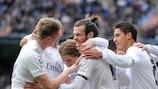 Gareth Bale erzielte Reals Führungstreffer, musste später aber verletzt runter