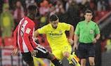 Iñaki Williams (Athletic) y Jaume Costa (Villarreal)