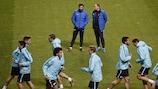 André Villas-Boas oversees Zenit training in Lisbon