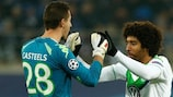 Muted celebrations at full-time for Wolfsburg pair Koen Casteels and Dante