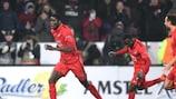 Paul Onuachu marcó el gol de la victoria del Midtjylland ante el United