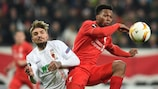 Daniel Sturridge was one of several Liverpool players to miss first-leg chances