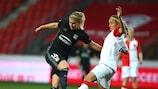 La Norvégienne Ada Hegerberg a signé un triplé pour Lyon