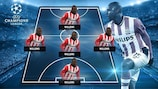 Jetro Willems' dream five-a-side team