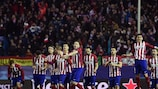 Atlético give vent to their emotions after Juanfran hits the winning penalty