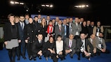 Graduates at the UEFA CFM course in Rome
